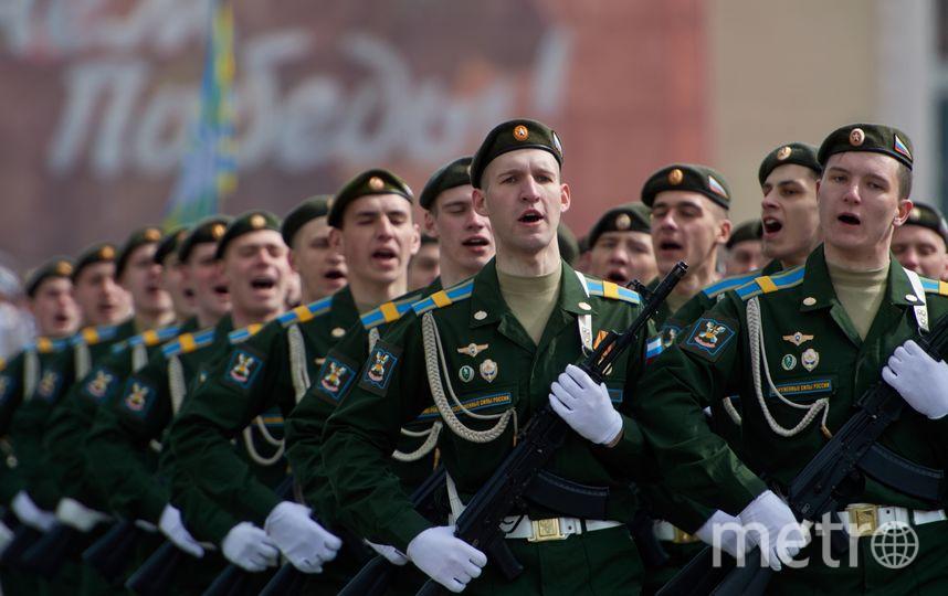 Парад Победы в Петербурге - 2017.