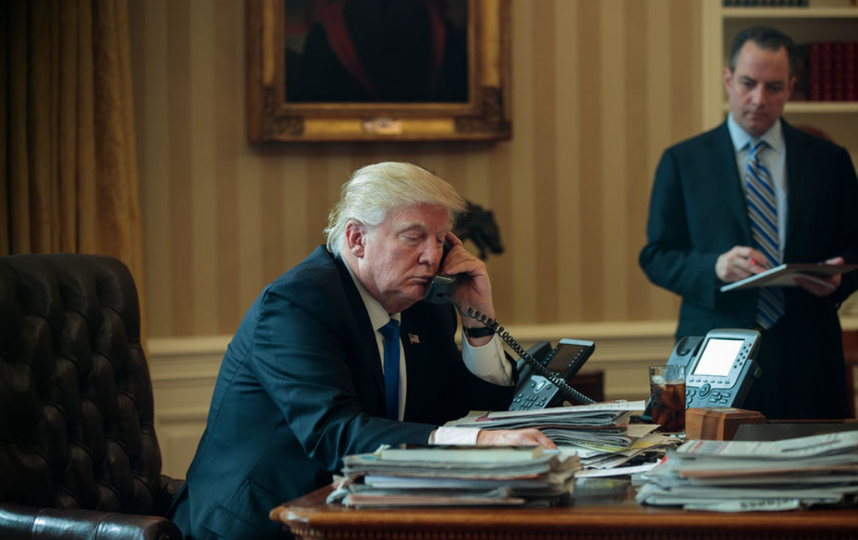 Дональд Трамп продлил антисирийские санкции. Фото Getty