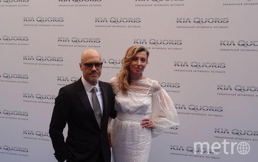 Федор Бондарчук с бывшей женой Светланой.