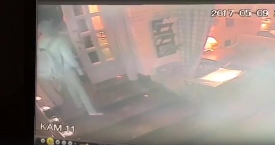 Очевидцы: В Петербурге пара с детьми украла чужой самокат в ресторане. Фото Скриншот , vk.com