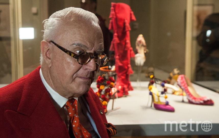 Маноло Бланик воплотил свою мечту, открыв выставку собственных туфель вЭрмитаже