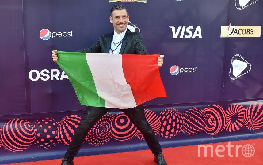 Франческо Габбани. Фото AFP