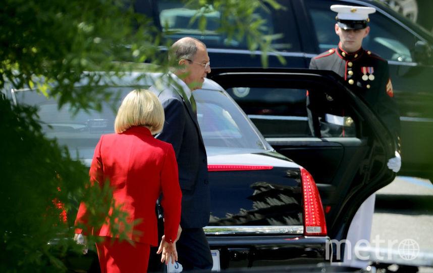 Лавров и Трамп встретились в Белом доме. Фото Getty