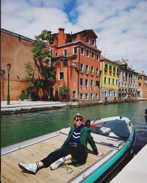 Знаменитости в Венеции. Фото Instagram