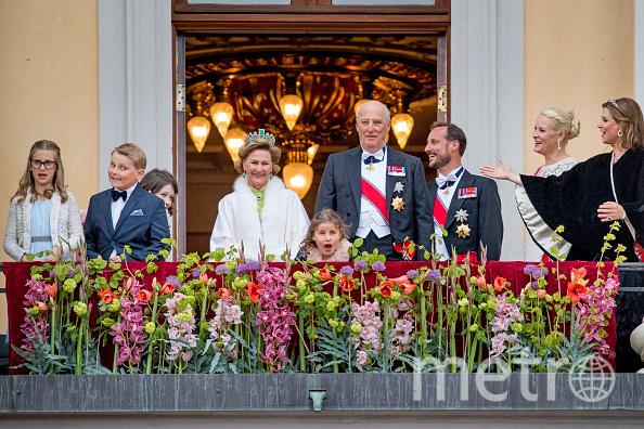 Торжества в честь празднования 80-летия короля Харольда и королевы Сони. Фото Getty
