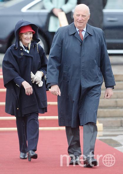 Король Харальд и королева Соня. Фото Getty
