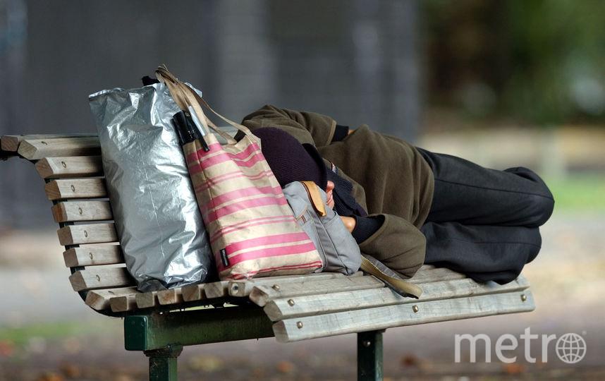 В Петербурге появилась обновленная памятка для бездомных людей. Фото Getty