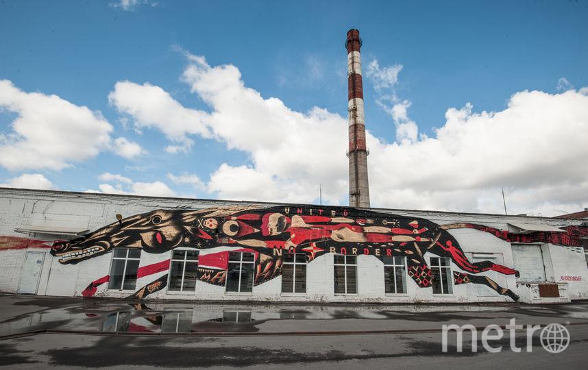 Экспозиция в Музее уличного искусства в честь 100-летия революции. Фото Все - Святослав Акимов