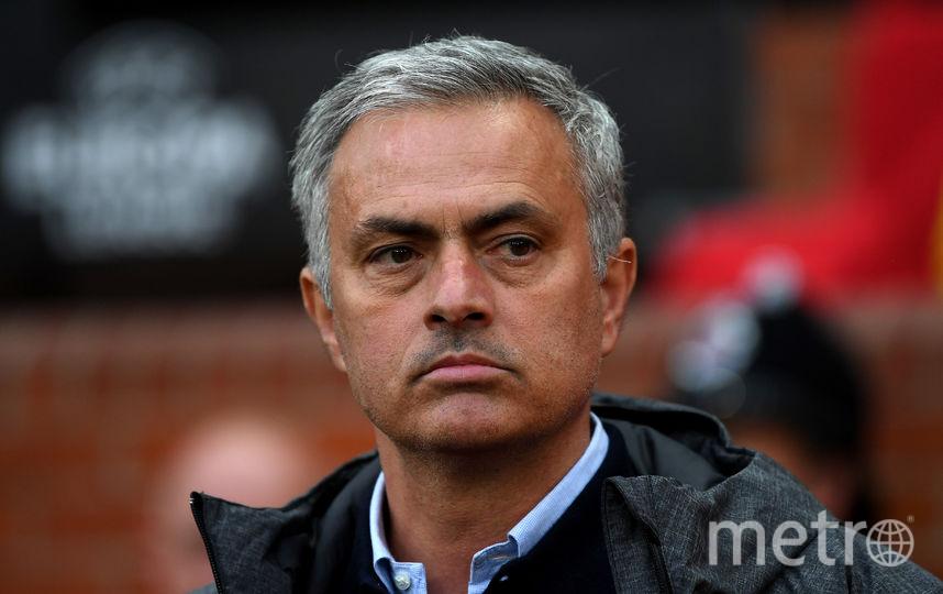 """Тренер """"Манчестер Юнайтед"""" Жозе Моуринью. Фото Getty"""