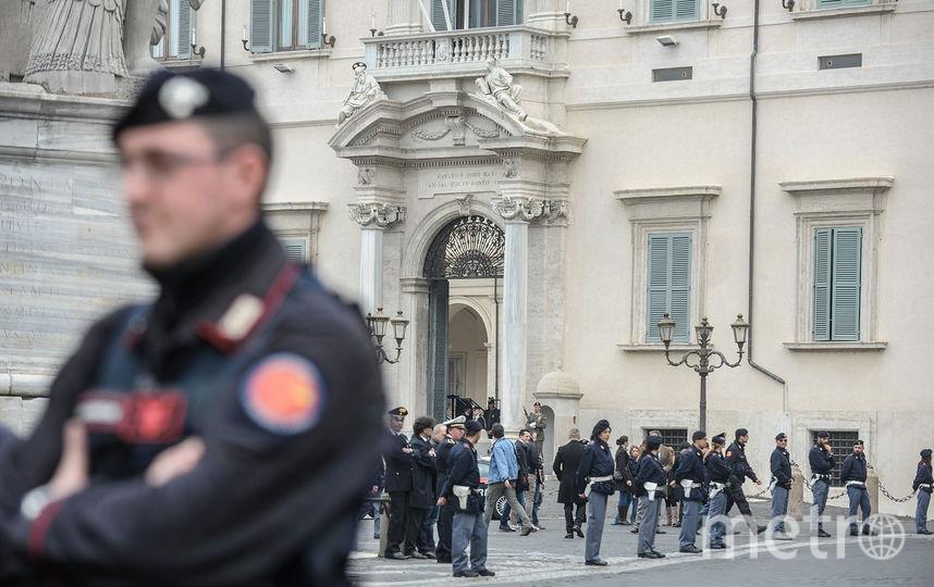 В Риме взрыв прогремел утром 12 мая. Фото Getty