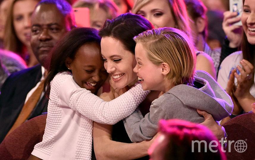 СМИ: Анджелина Джоли и Брэд Питт не намерены разводиться. Фото Getty
