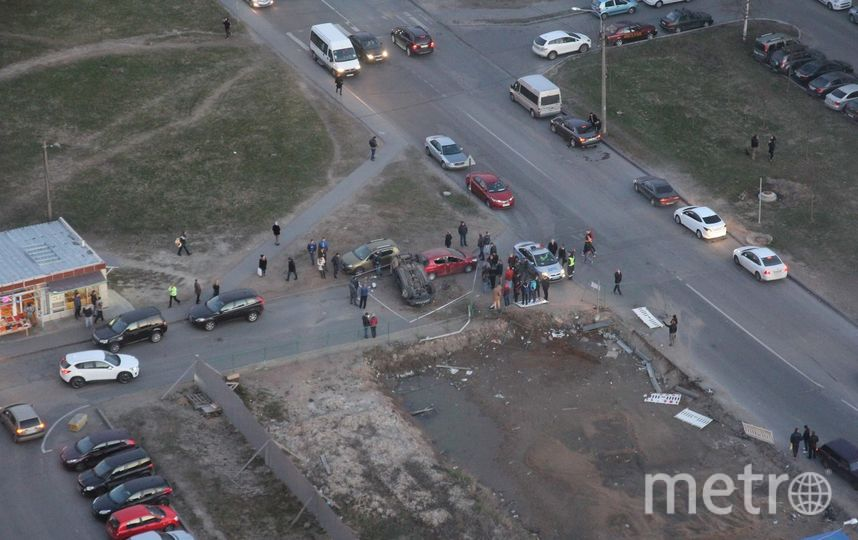 ДТП на Комендантском проспекте.