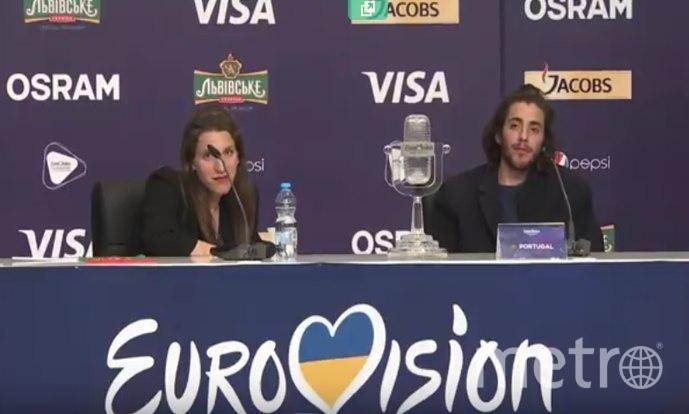 """Сальвадор Собрал из Португалии - победитель """"Евровидения - 2017""""."""
