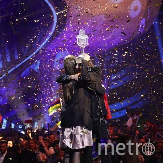 """Финал """"Евровидения - 2017"""" в Киеве. Фото Скриншот Instagram"""