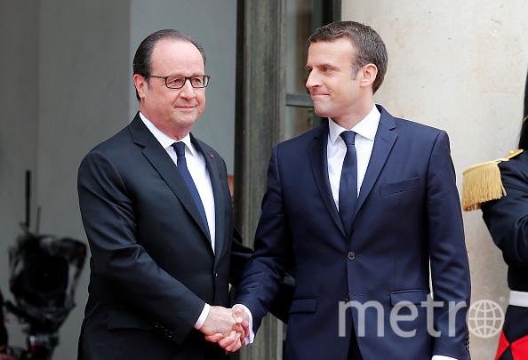 Макрон официально вступил в должность президента Франции. Фото Getty