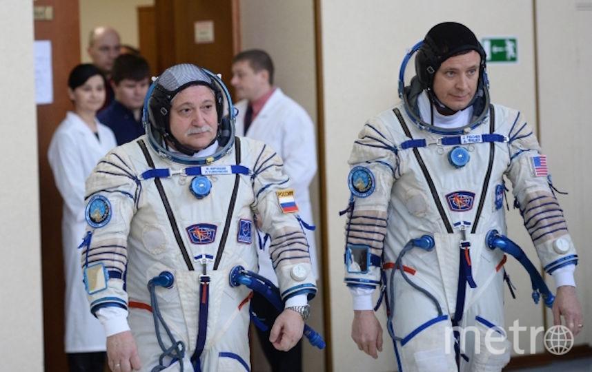 Космонавты на тренировке (архивное фото). Фото РИА Новости