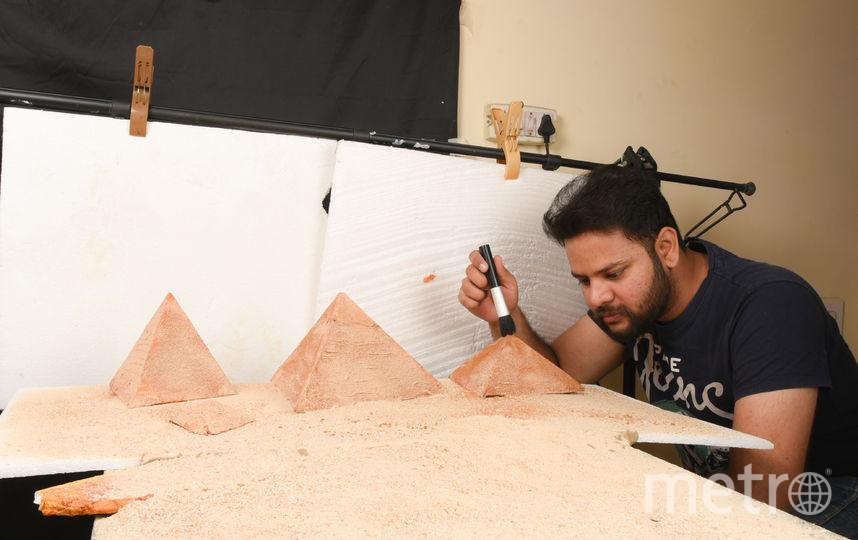 Работа индийца. Фото Vatsal Kataria (VATKAT Photography)