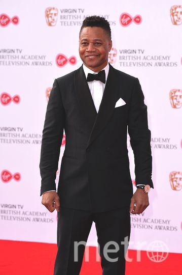BAFTA TV Awards 2017. Кьюба Гудинг-мл. Фото Getty