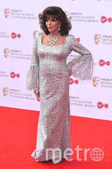 BAFTA TV Awards 2017. Джоан Коллинз. Фото Getty
