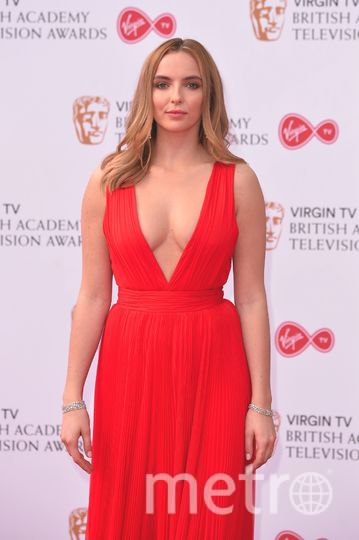 BAFTA TV Awards 2017. Джоди Комер. Фото Getty