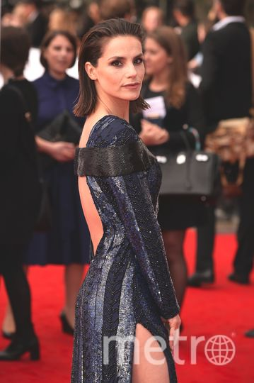 BAFTA TV Awards 2017. Шарлотта Райли. Фото Getty
