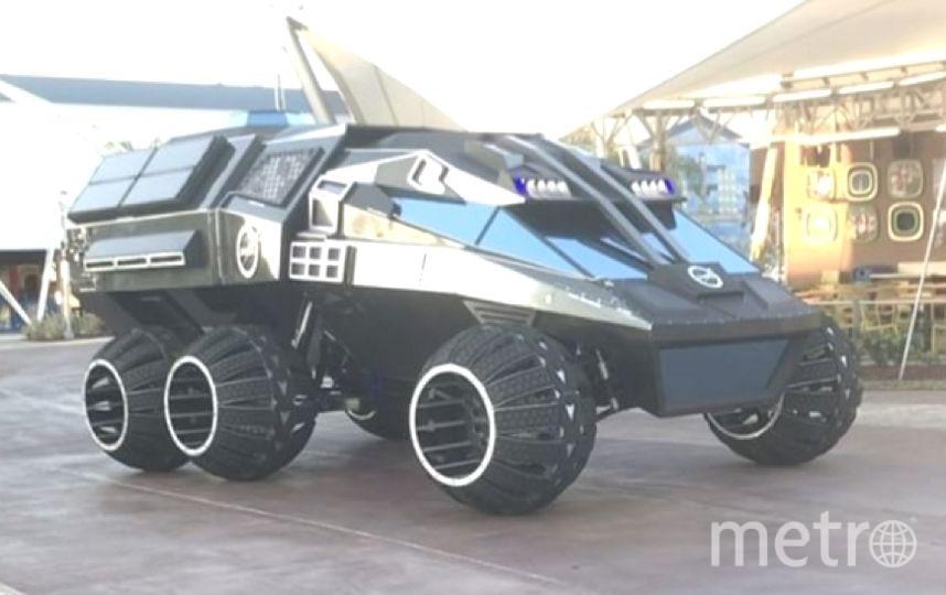В США на мысе Канаверал презентовали большой марсоход Mars Rover. Фото Instagram