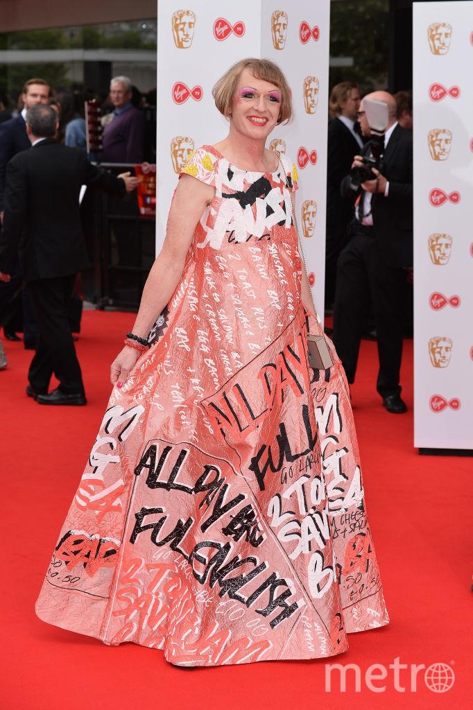 Грейсон Перри на красной дорожке премии BAFTA TV. Фото Getty