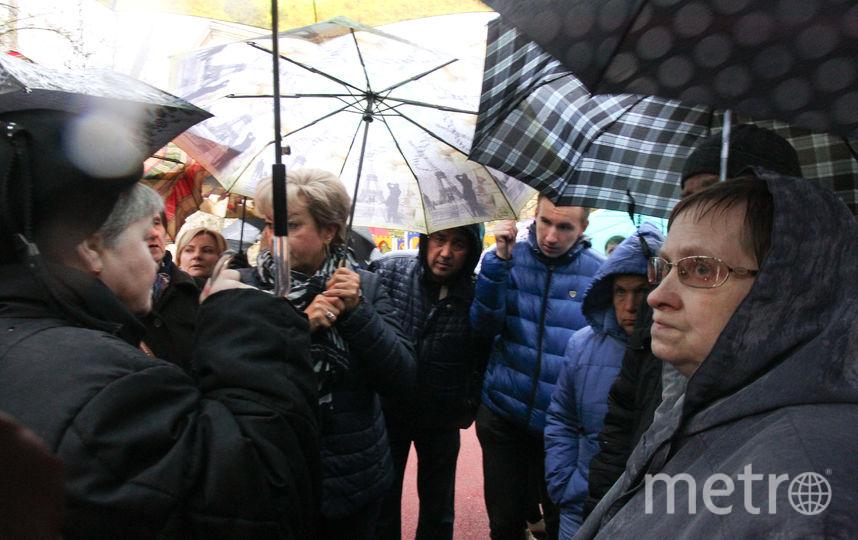 Собрание жителей на Русаковской улице. Фото Василий Кузьмичёнок