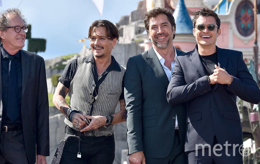 """14 мая Джонни Депп был на европейской премьере """"Пиратов Карибского моря"""" в Париже. Фото Getty"""