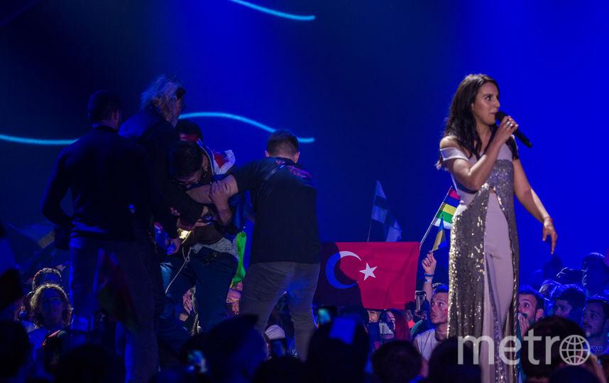 Пранкер Седюк снял штаны на Евровидении. Фото Getty