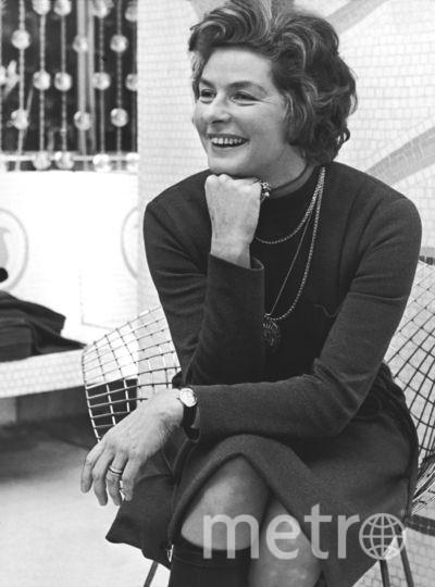 Канны. Актриса Ингрид Бергман. 1971. Фото Getty