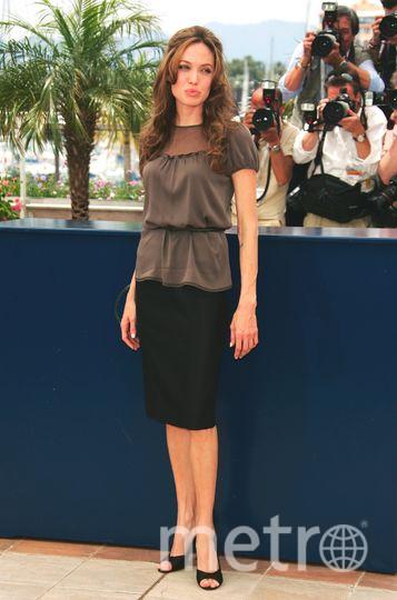 Канны. Анджелина Джоли. 2004 год. Фото Getty