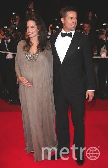 Канны. Анджелина Джоли и Брэд Питт. 2008 год. Фото Getty