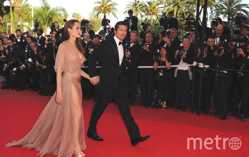 Канны. Анджелина Джоли и Брэд Питт. 2009 год. Фото Getty