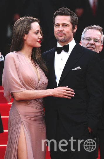 Канны. Анджелина Джоли и Брэд Питт 2009 год. Фото Getty