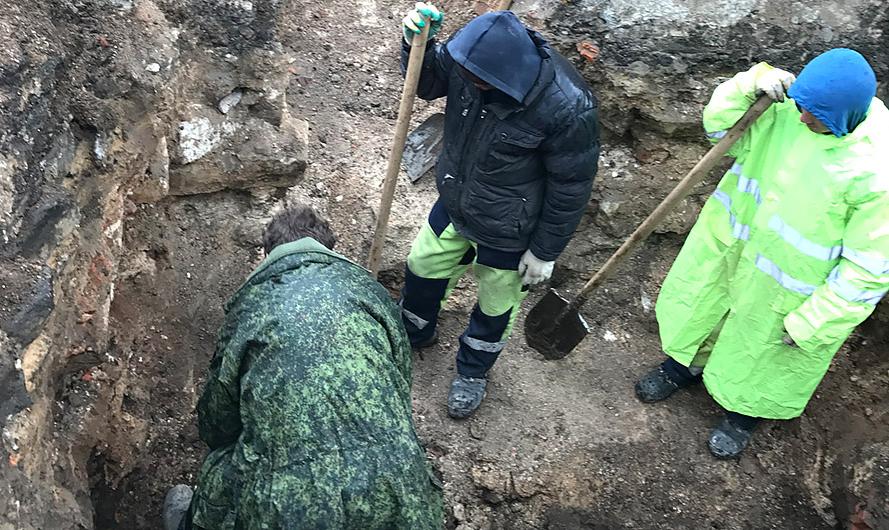 В центре Москвы обнаружили древний некрополь. Фото mos.ru