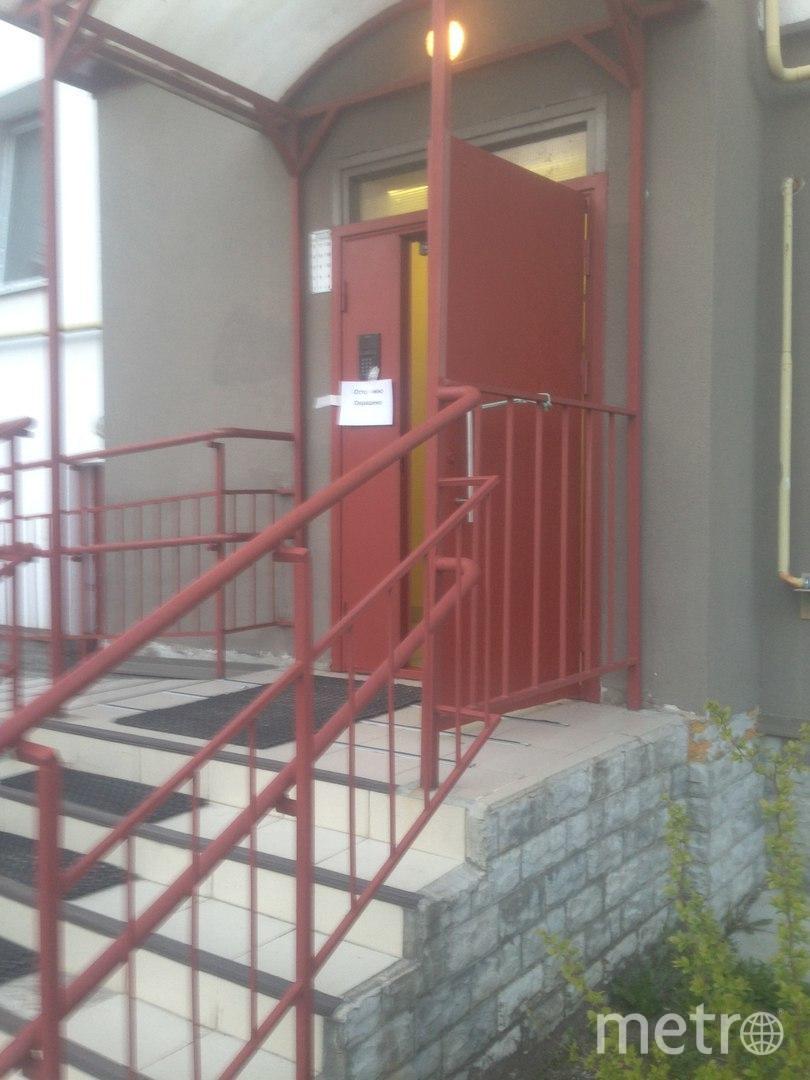 Отретушированную дверь в Петергофе полностью перекрасили. Фото Георгий Федоров, vk.com