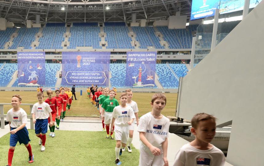Стадион на Крестовском острове - фотоархив.