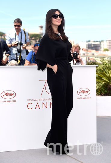 Моника Беллуччи прибыла на Каннский кинофестиваль. Фото Getty