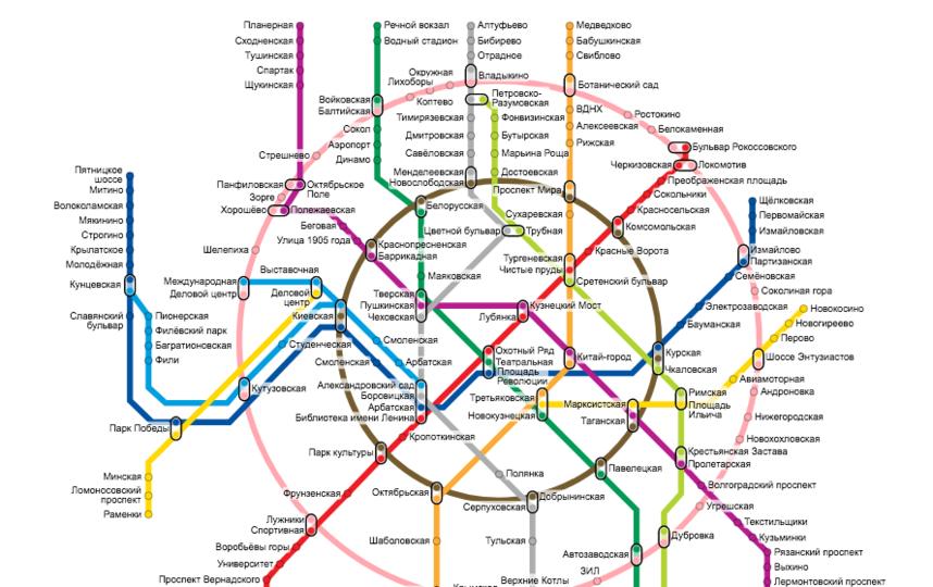 расчет в метро москва магазин