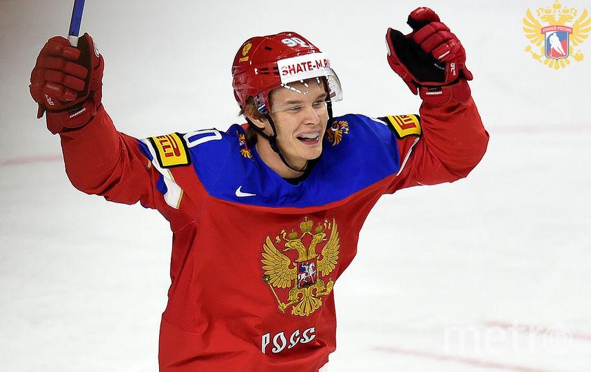 Фотографии с матча Россия - Латвия (5:0). Фото fhr.ru