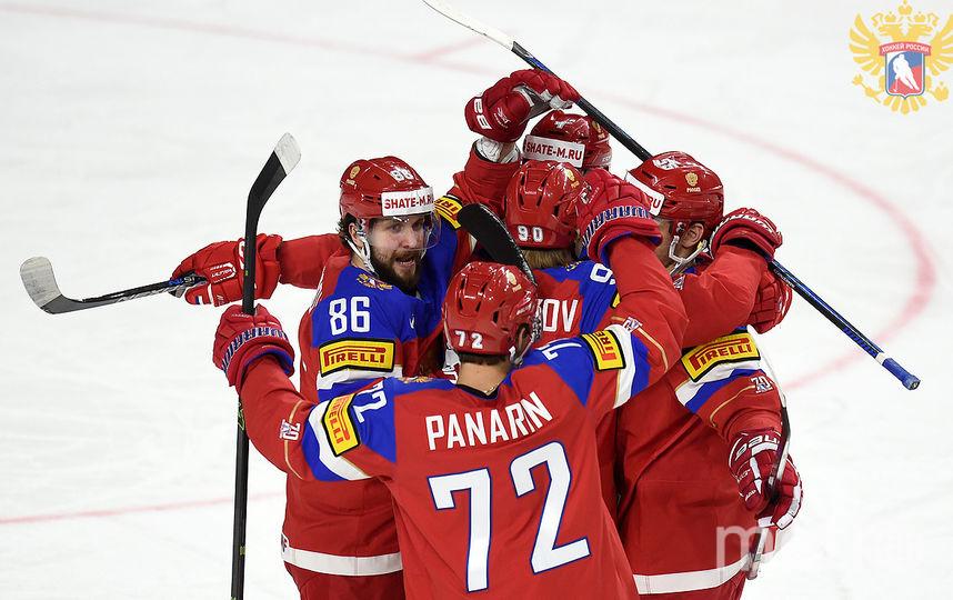 Русские хоккеисты начемпионате мира обновили рекорд сборной СССР 1964 года