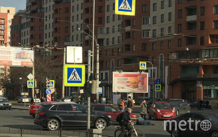 ДТП и ЧП | Санкт-Петербург | vk.com/spb_today. Фото Ксения Рыжева, vk.com