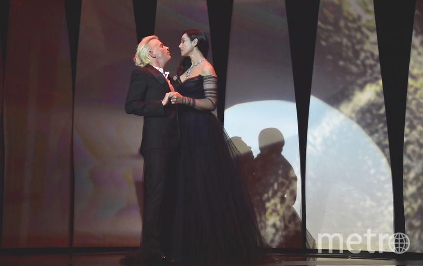 Моника Белуччи и Алекс Лутц. Фото Getty