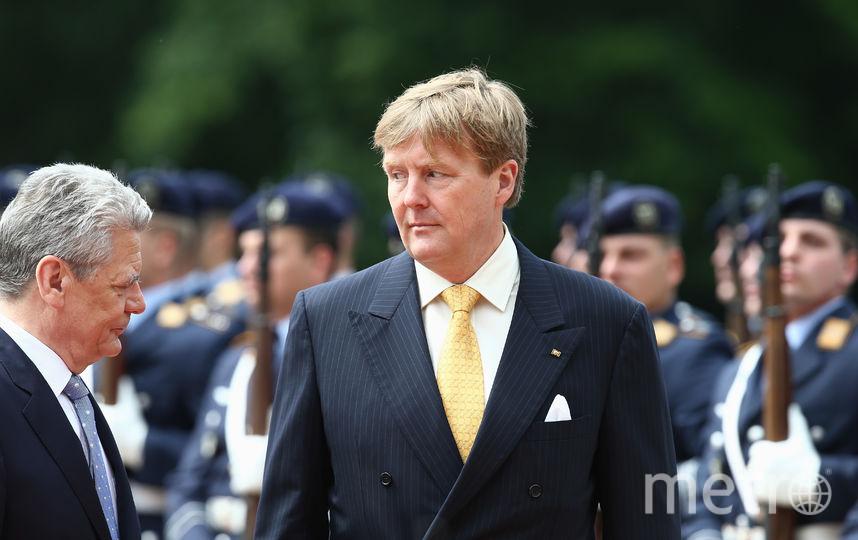 Король Нидерландов Виллем-Александр. Фото Getty