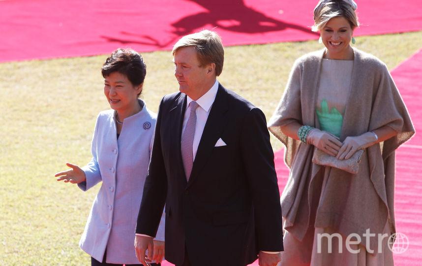 Король Нидерландов Виллем-Александр с супругой, королевой Максимой. Фото Getty