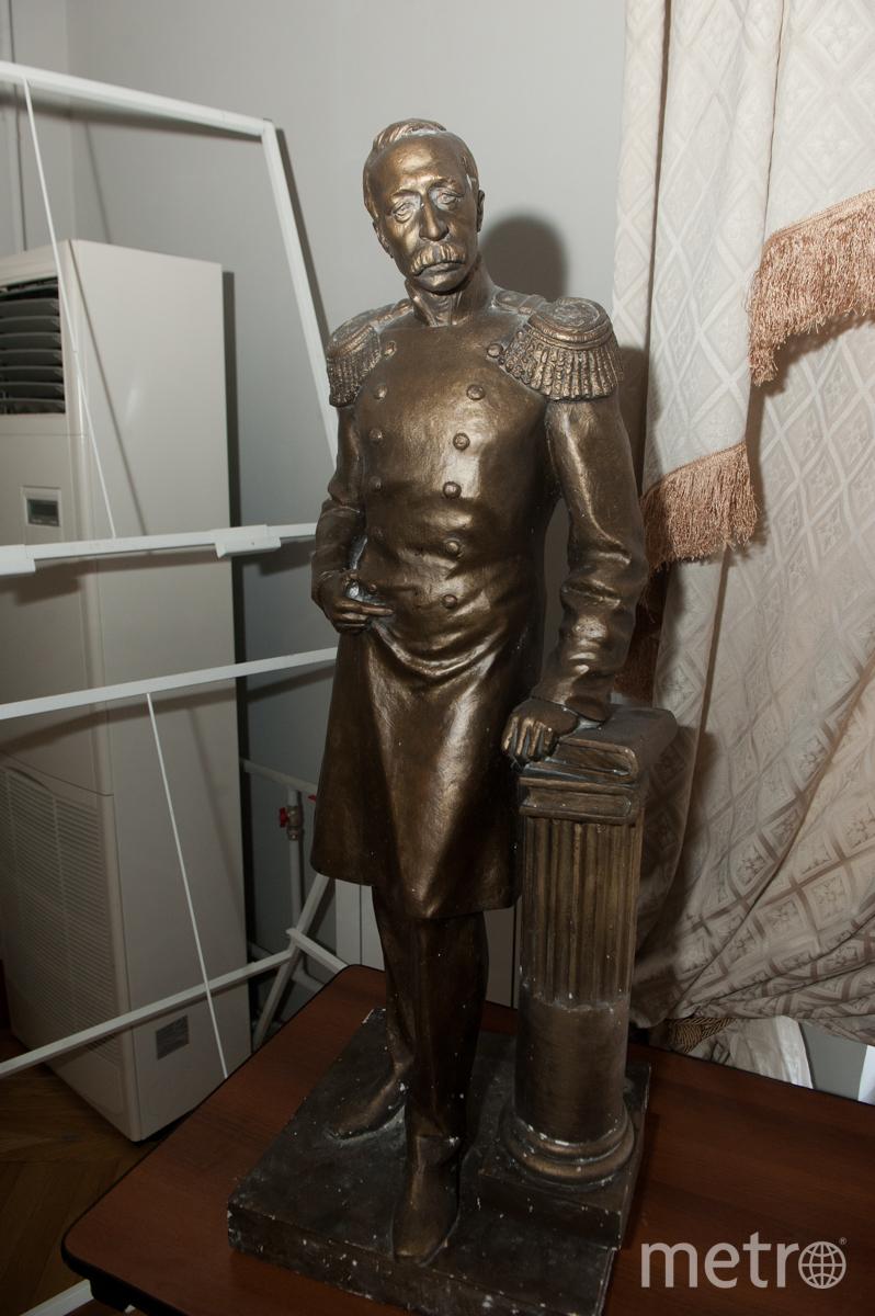 Макет памятника принцу П.Г.Ольденбургскому. Фото Все - Святослав Акимов