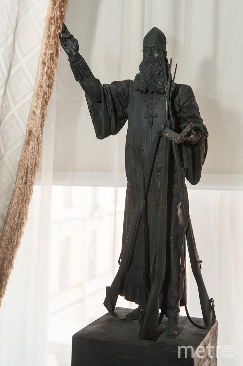 """Макет памятника """"1914"""", который планируют установить в Пушкине."""