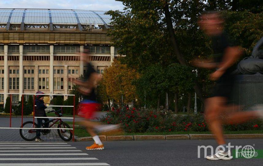 Бег в Москве. Фото Василий Кузьмичёнок