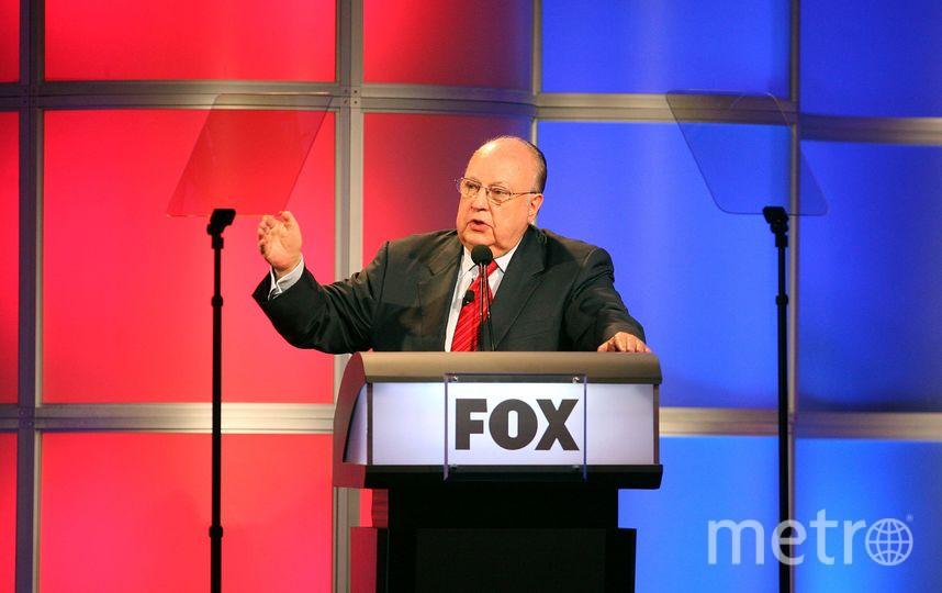 Основатель и экс-глава телеканала Fox News Роджер Эйлс. Фото Getty